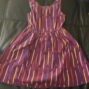 NWOT Modcloth Pencils Dress